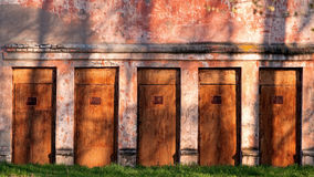 Choose the right door Royalty Free Stock Image