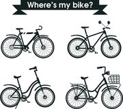 Choose your bike Stock Images