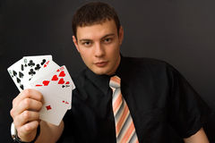 Choose Your Card Stock Photo