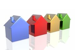 Choose your house Royalty Free Stock Image