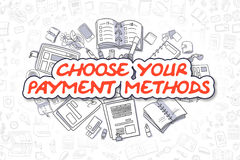 Choose Your Payment Methods - Business Concept. Stock Photo