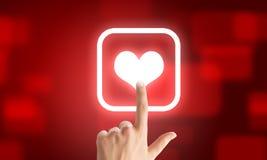 Choosing application Stock Photography