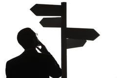 Choosing Directions Stock Photo