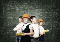 Choosing future profession Stock Images