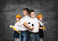 Choosing future profession Royalty Free Stock Image