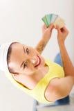 Choosing paint color Stock Image