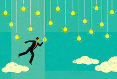 Choosing a Profitable Idea Stock Images