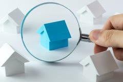 Choosing right house Royalty Free Stock Photo