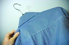 Choosing shirt Royalty Free Stock Image