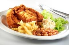 Chop цыпленка стоковые изображения rf