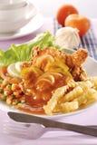 chop цыпленка Стоковая Фотография RF