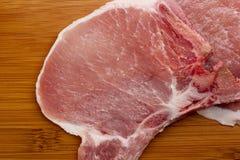 Chop on the bone Stock Photo