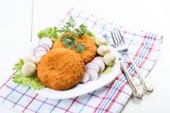Chop cordon bleu Stock Images