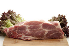 Chop raw Stock Photography
