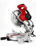 Chop Saw. Power Miter Saw (chop saw) shot on a white background stock photography