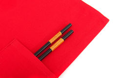 Chop sticks Royalty Free Stock Images