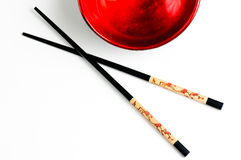 Chop sticks Royalty Free Stock Photos