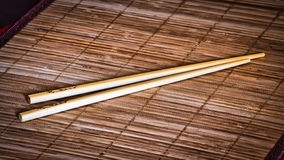 Chop sticks Stock Images