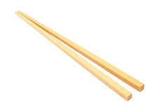 Chop sticks isolated Royalty Free Stock Image