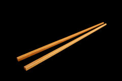 Chop sticks isolated Royalty Free Stock Photo