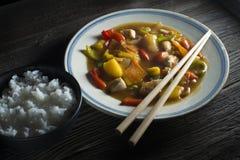 Chop suey imagens de stock