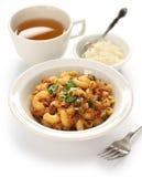 Chop suey americano, goulash americana fotografia de stock royalty free