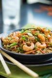 Chop suey do camarão fotos de stock royalty free