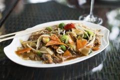 Chop suey do pato foto de stock