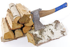 Chop wood 1 Royalty Free Stock Photography