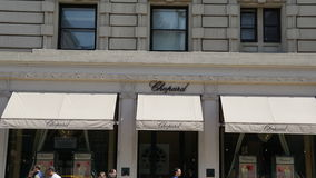 Chopard Boutique, Madison Avenue, New York Stock Photography