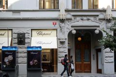 Chopard boutique Stock Photography