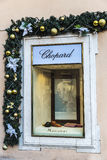 Chopard shop in Rome, Italy Royalty Free Stock Images