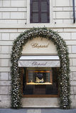 Chopard shop in Rome, Italy Royalty Free Stock Photos