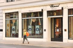 Chopard watches Royalty Free Stock Photo