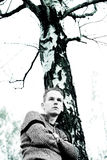 chłopcy umarłe drzewo Zdjęcie Stock