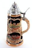 Chope en grès allemande de bière Photo libre de droits