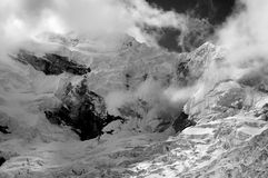 Chopicalqui Peak Stock Image