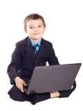 chłopiec biznes Obrazy Stock