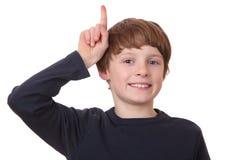 chłopiec mądrze Zdjęcia Stock