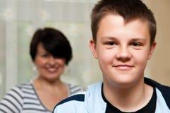 chłopiec nastolatek Fotografia Stock
