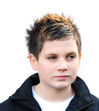 chłopiec nastoletni przystojny Obrazy Royalty Free