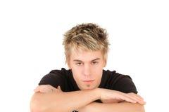 chłopiec nastoletnia Zdjęcie Royalty Free