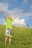 chłopiec radosna Zdjęcia Stock