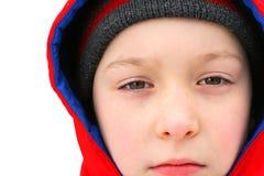 chłopiec smutna Zdjęcia Royalty Free