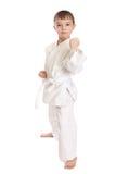 chłopiec sportowiec Obraz Royalty Free