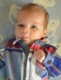chłopiec target111_0_ Zdjęcia Royalty Free