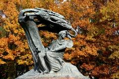 Chopin μνημείο στοκ εικόνα με δικαίωμα ελεύθερης χρήσης