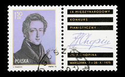 Chopin royalty-vrije stock foto