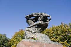 Chopin em Varsóvia Fotos de Stock