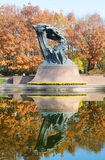 Chopin monument Royalty Free Stock Images
